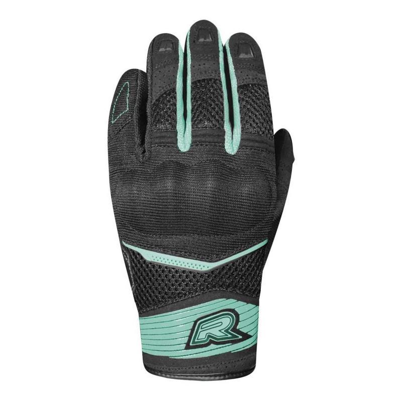 Gants textile femme Racer Skid 2 F noir/turquoise