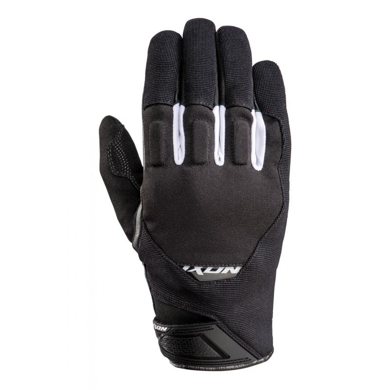 Gants textile Ixon RS Spring noir/blanc
