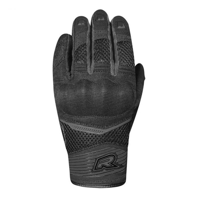 Gants textile Racer Skid 2 noir/noir