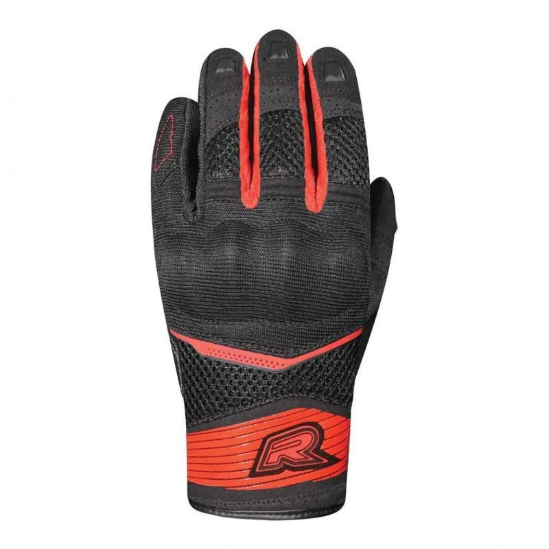 Gants textile Racer Skid 2 noir/rouge