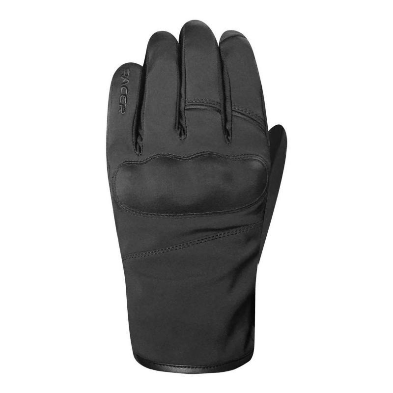 Gants textile Racer Wildry noir