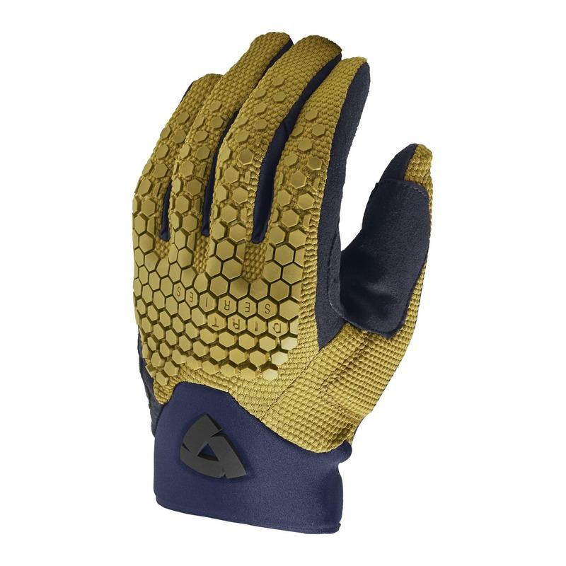 Gants textile Rev'it Massif ocre jaune
