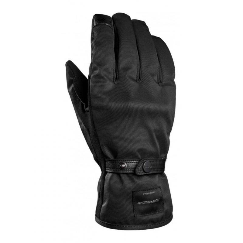 Gants textile Spidi Métroglove noir
