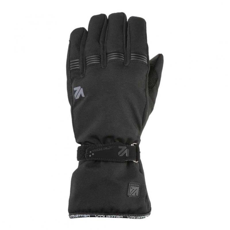 Gants textile V'Quattro Core 18 noir