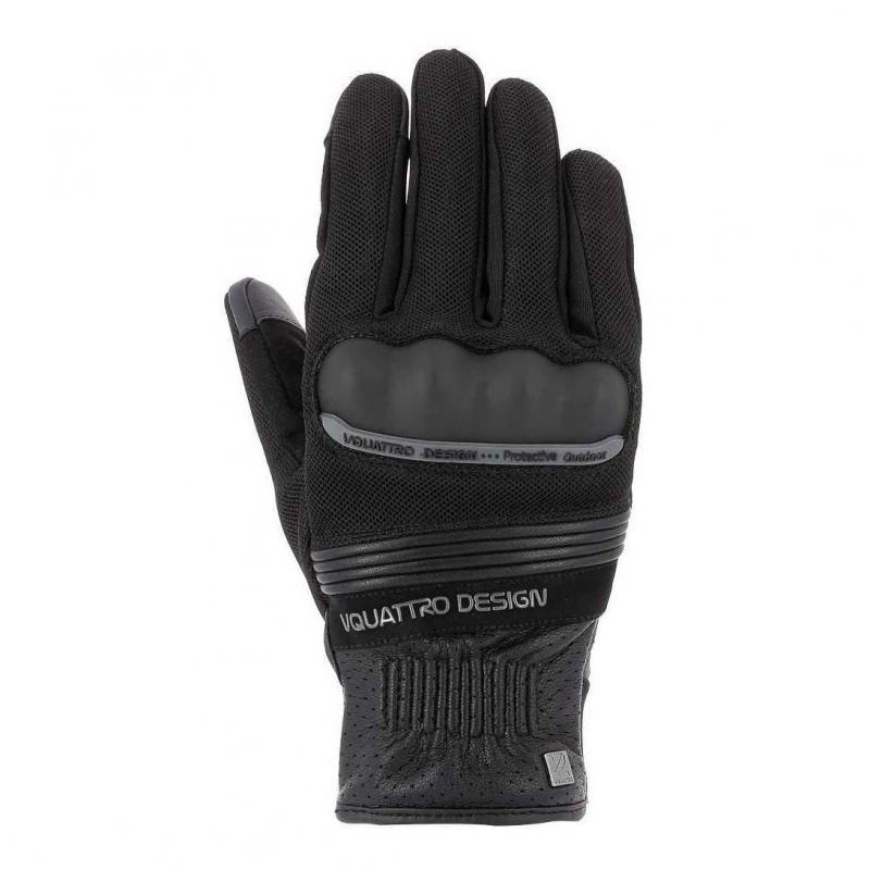 Gants V'Quattro Metropolitan 18 noir