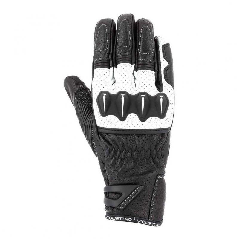Gants V'Quattro RC 18 noir/blanc