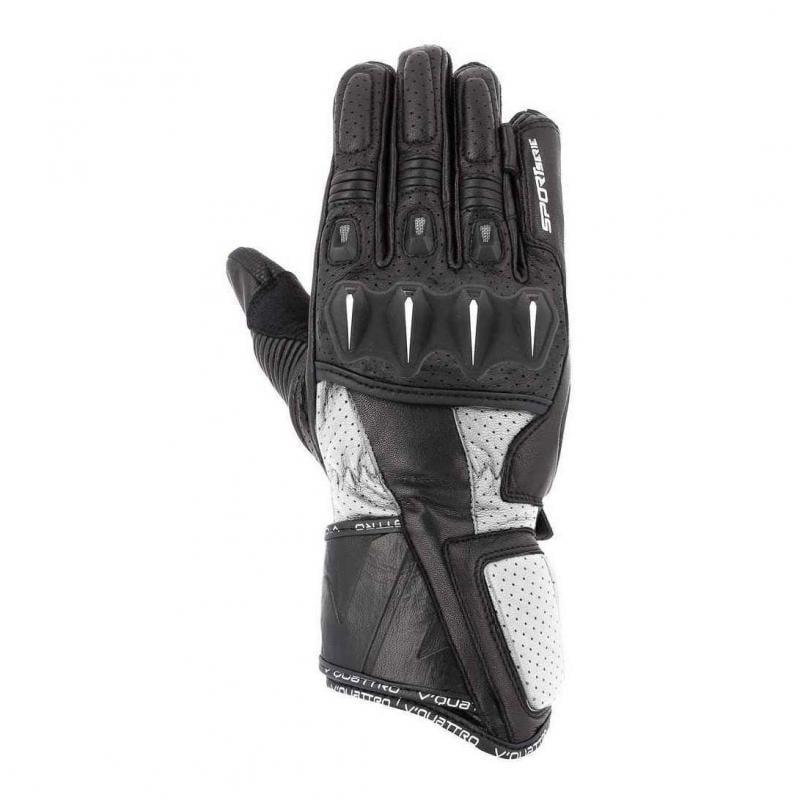 Gants V'Quattro RL 18 noir/blanc