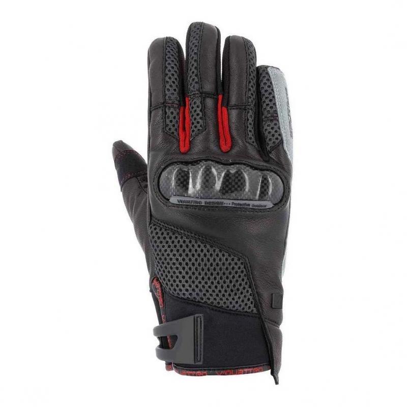 Gants V'Quattro SP 18 noir/rouge