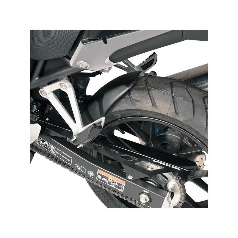 Garde-boue arrière Barracuda noir Honda CBR 500 R 19-20