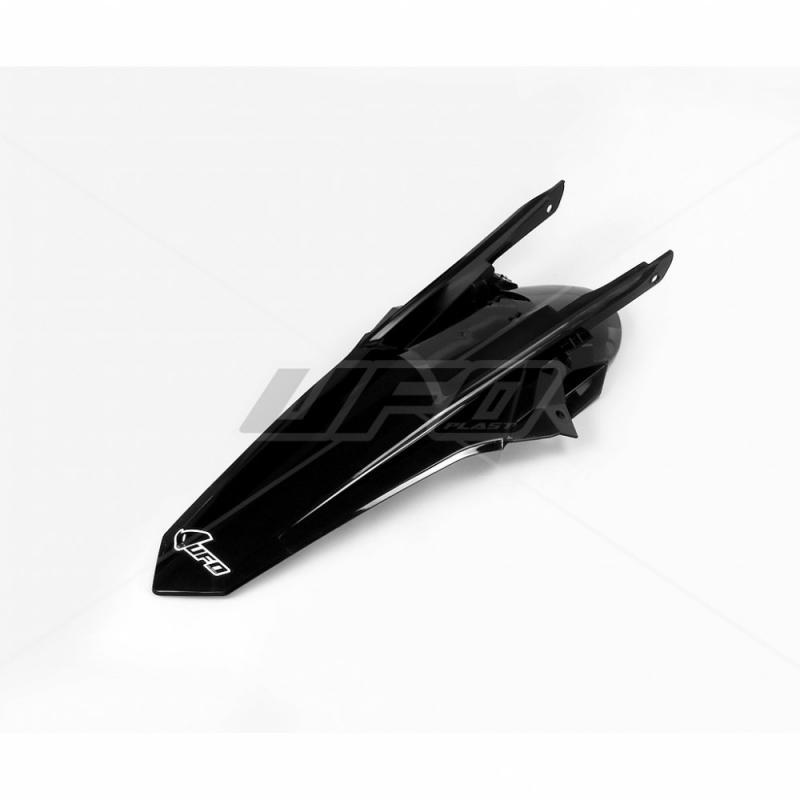 Garde-boue arrière UFO KTM 125 SX 16-18 noir