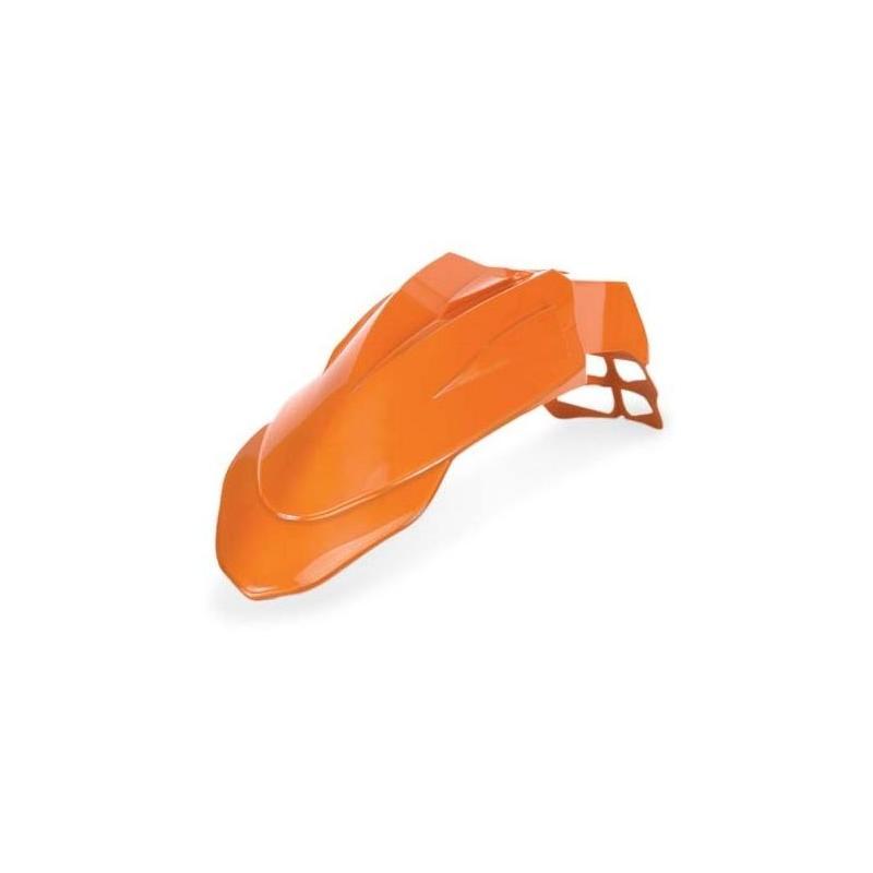 Garde boue avant Acerbis Supermoto orange