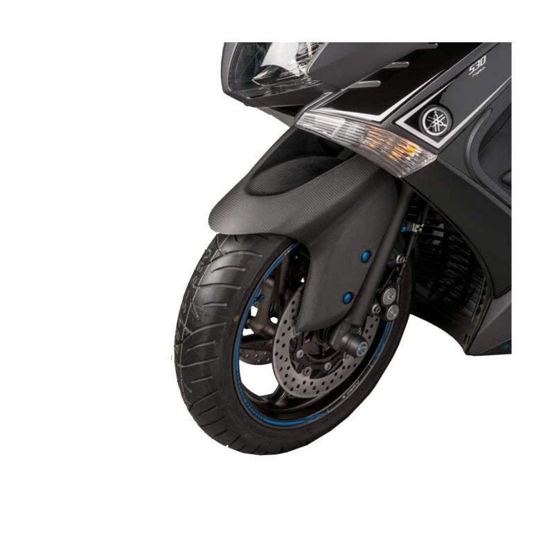 Garde boue avant Lightech Carbone mat pour Yamaha T-Max 530 12-16