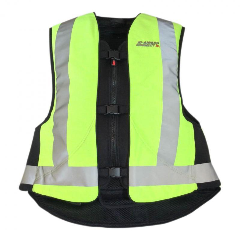 Gilet airbag Hi-Airbag Connect jaune fluo