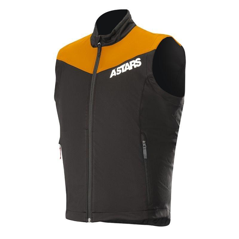 Gilet Alpinestars Session Race noir/orange fluo