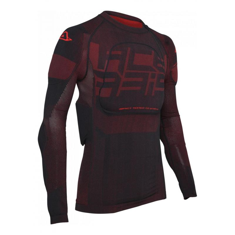 Gilet de protection Acerbis X-Fit Future noir/rouge