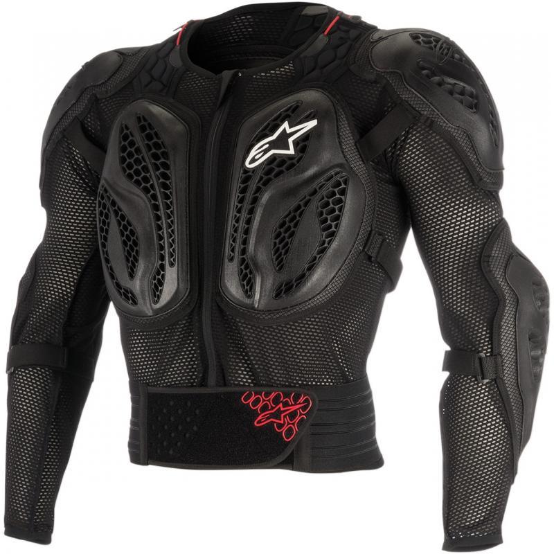 Gilet de protection enfant Alpinestars Bionic Action rouge/noir