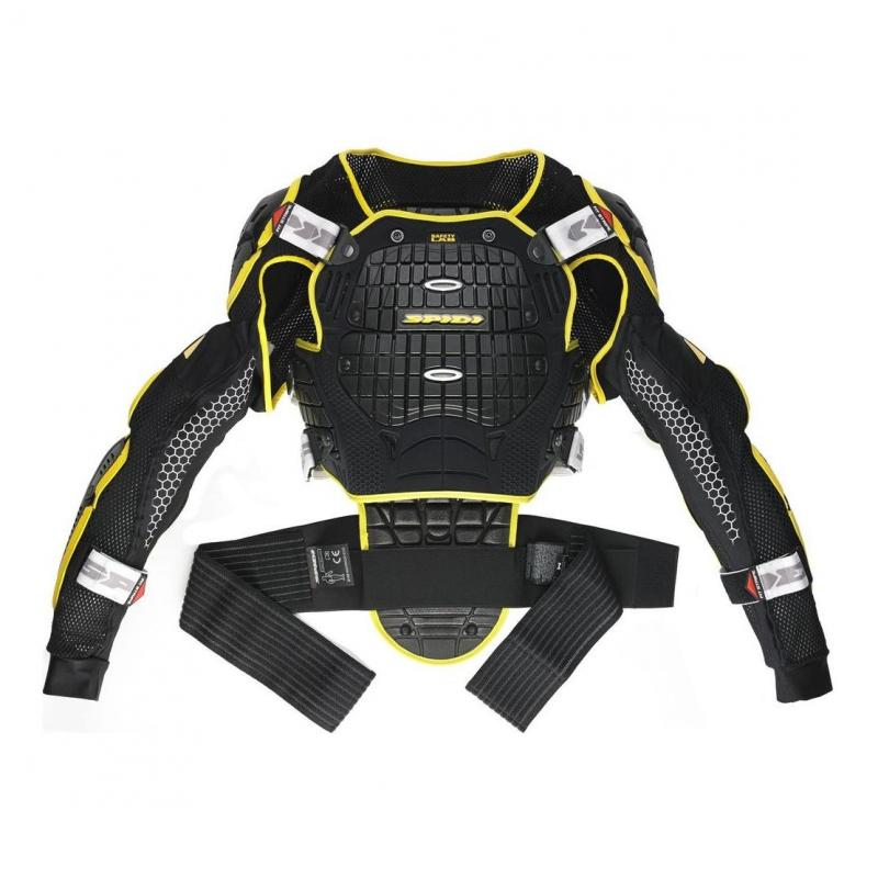 Gilet de protection Spidi WARRIOR noir/jaune
