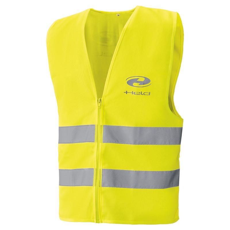 Gilet réfléchissant Held Safety Vest noir/jaune fluo