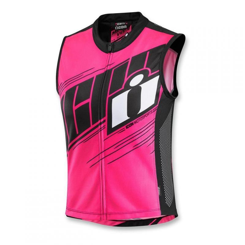 Gilet textile femme Icon Mil-Spec 2 rose
