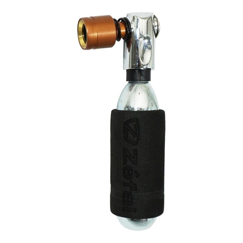 Gonfleur Zéfal EZ Control Push Bronze à cartouche de CO2