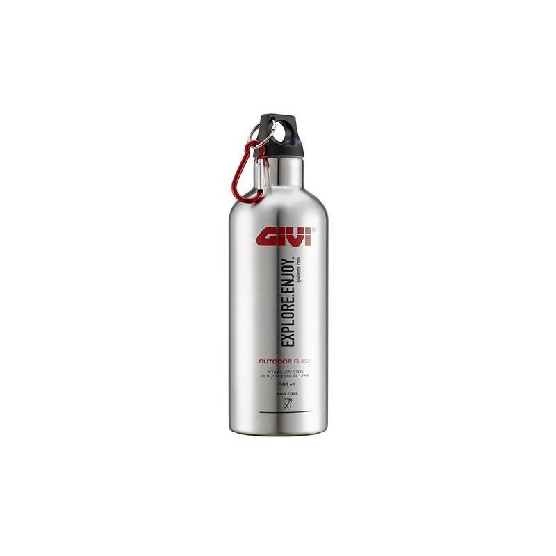 Gourde Givi thermos en acier inox pour boissons, 500mL
