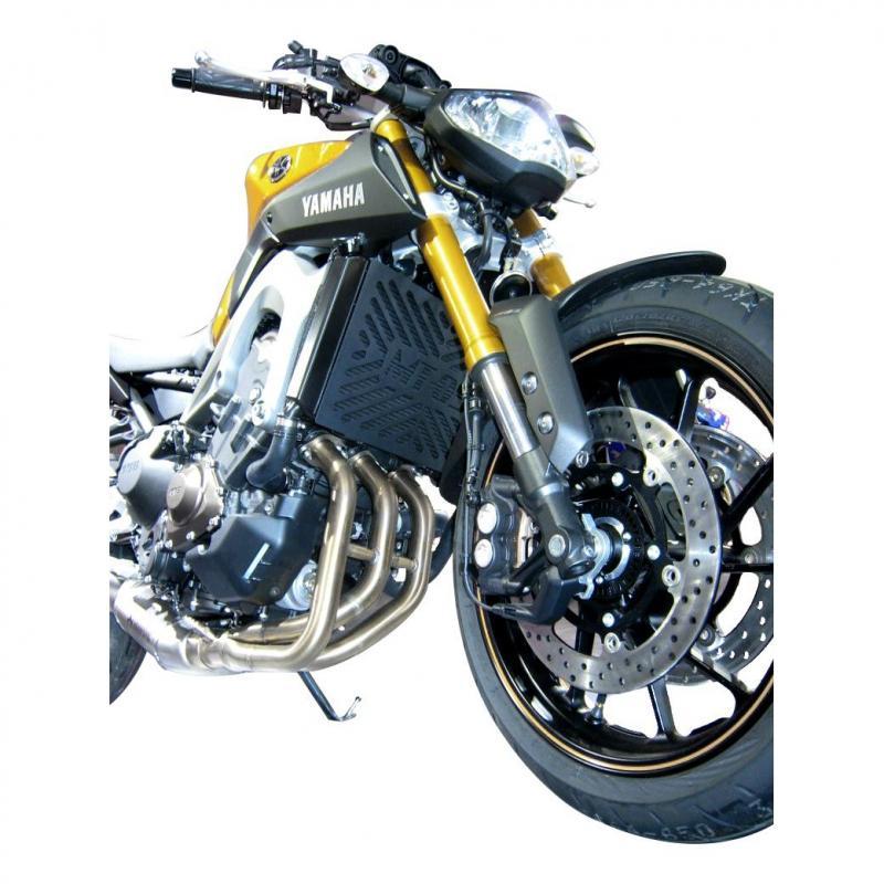 Grille de radiateur Brazoline noire Yamaha MT-09 13-17