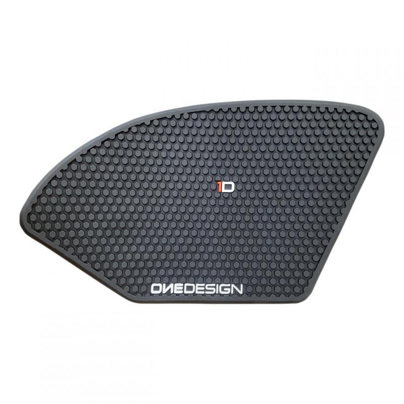 Grip de réservoir Onedesign noir HDR225 Suzuki GSX-R 1000 17-19