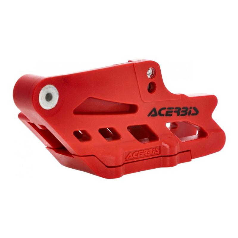 Guide de chaîne et patin de chaîne Acerbis Gas Gas 250 EC 2021 rouge
