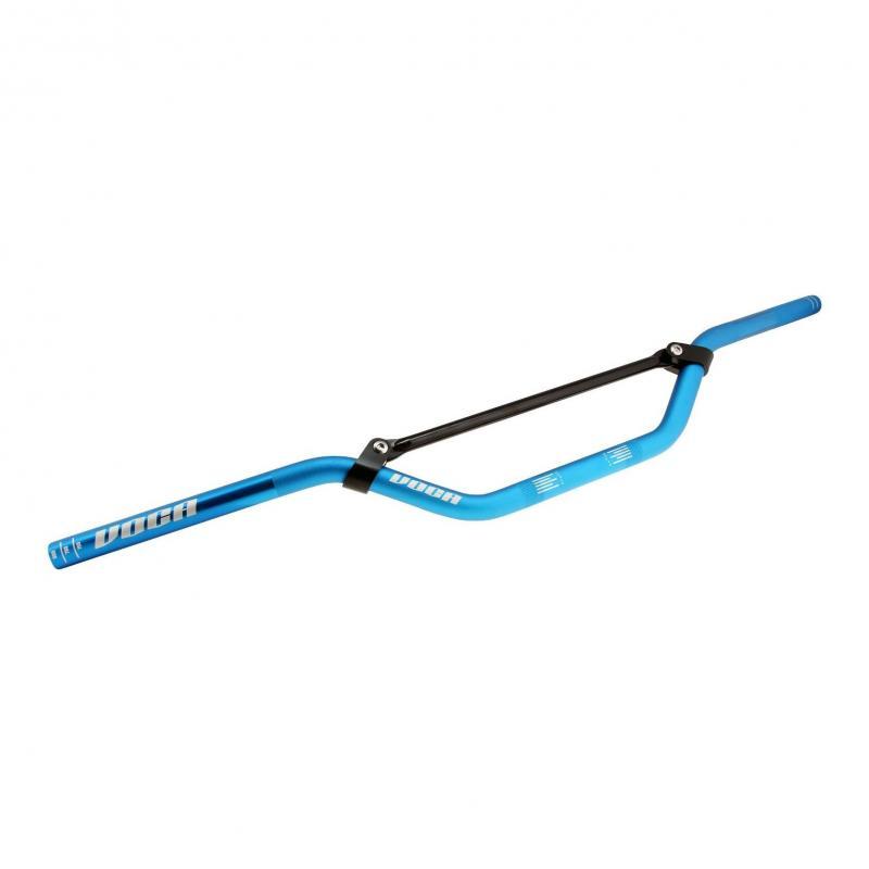 Guidon Voca Racing cross 22.2mm bleu