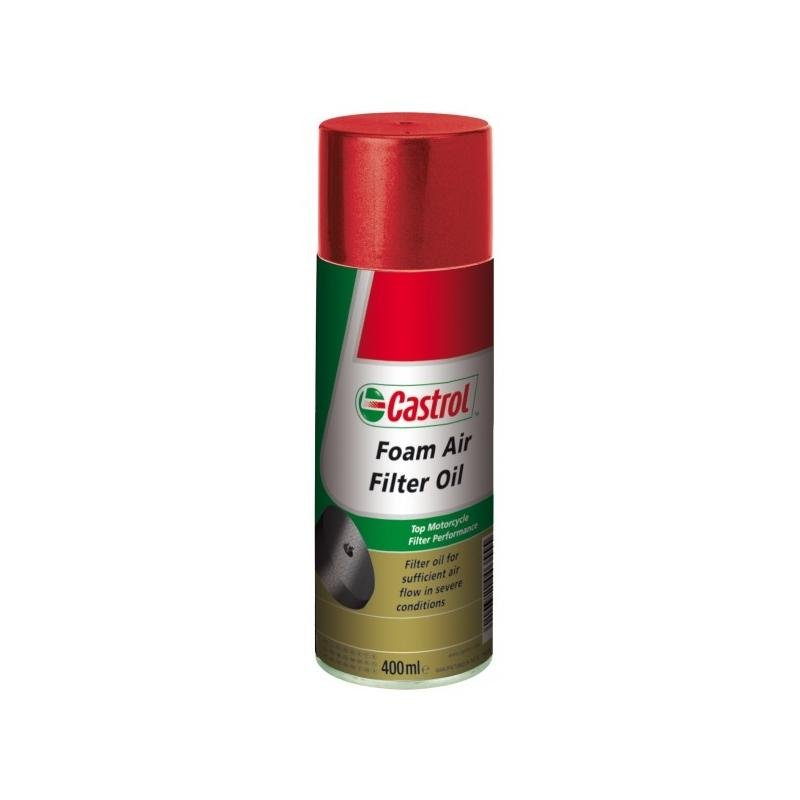 Huile filtre à air Castrol Foam Air Filter Oil 400ML