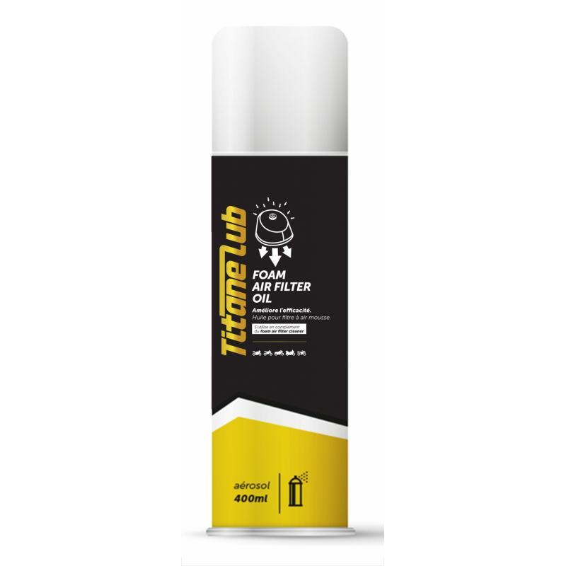 Huile filtre à air Titane Lub Foam Air Filter Oil 400ml