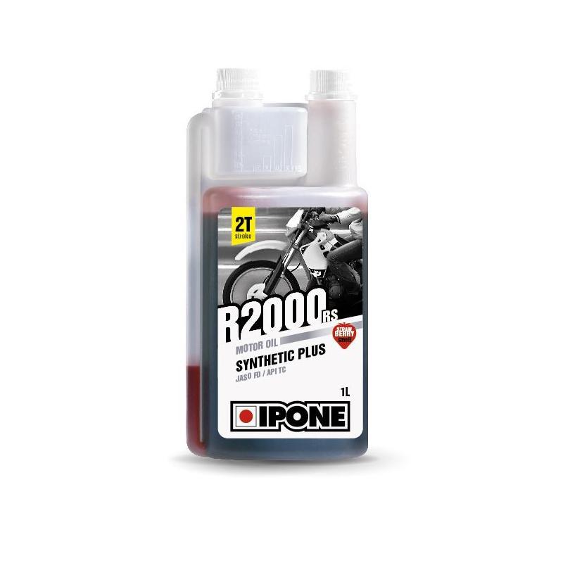 Huile moteur 2T Ipone R2000 RS Fraise 1l