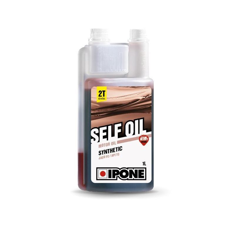 Huile moteur 2T Ipone Self Oil Fraise 1l