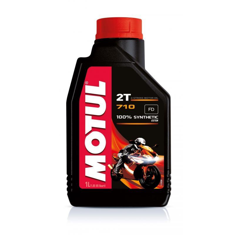 Huile moteur 2T Motul 710 1L