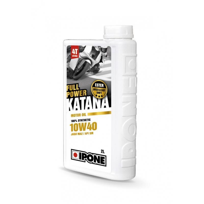 Huile moteur 4T Ipone Full Power Katana 10W40 2L