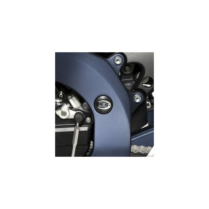 Insert de cadre supérieur gauche R&G Racing noir Suzuki GSX-R 750 11-16