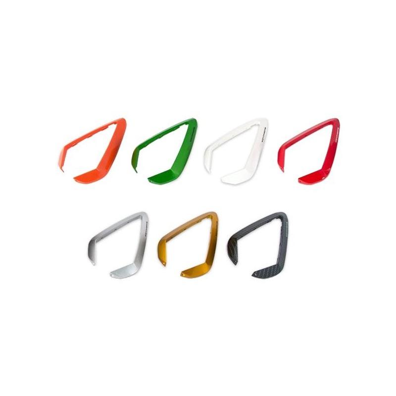 Inserts plastique orange pour rétroviseurs Barracuda D-Version