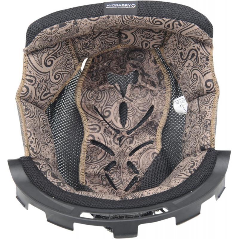 Intérieur de casque Icon Airmada Chantilly marron noir