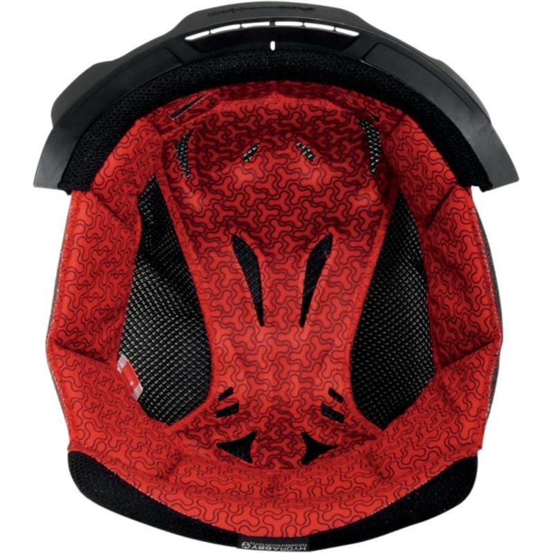 Intérieur de casque Icon Variant Tech Star rouge