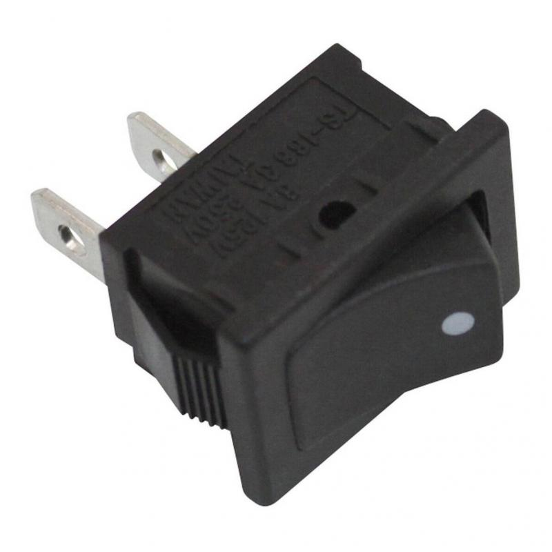 Interrupteur on/off bouton noir
