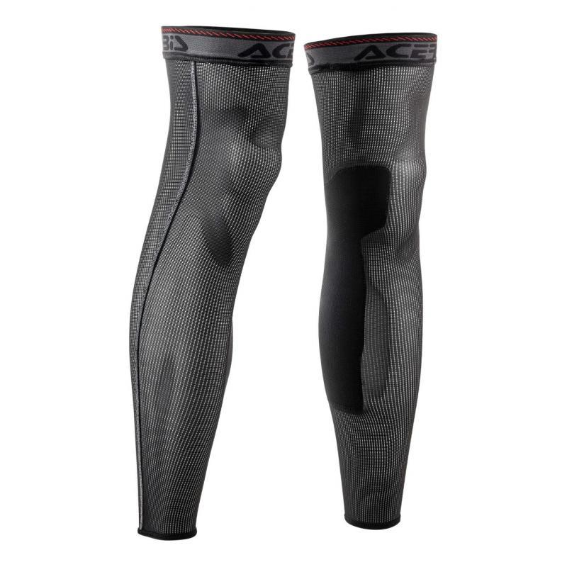 Jambières Acerbis Tube Knee Leech noir