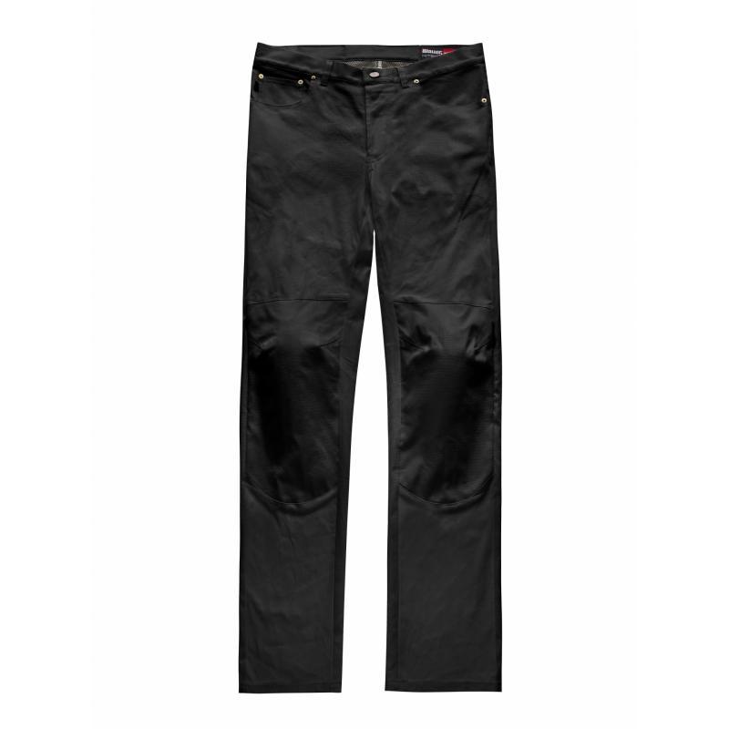 Jeans Blauer Kanvas noir