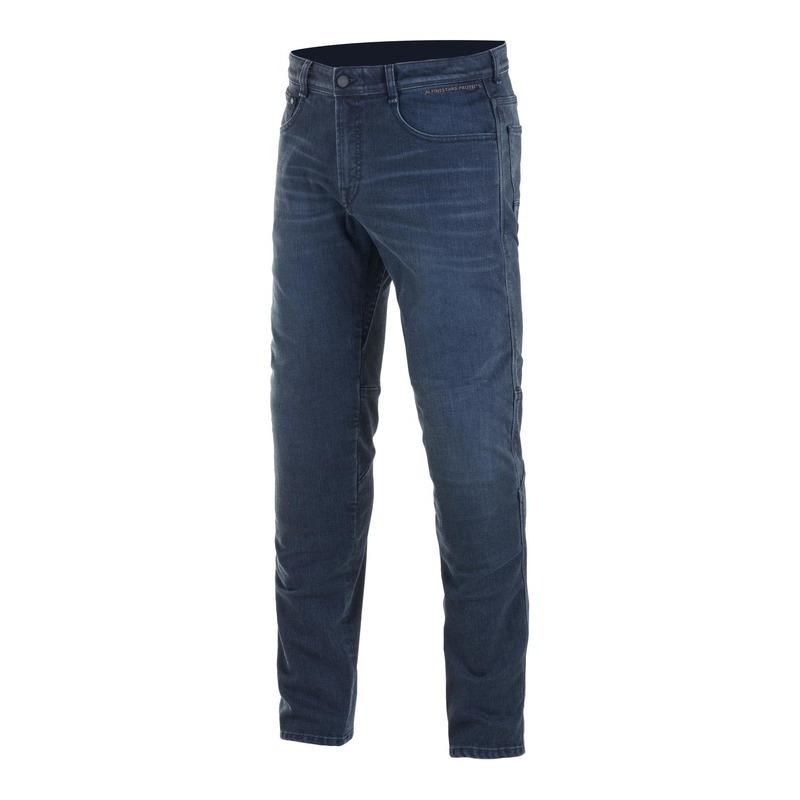 Jeans moto Alpinestars Radium Plus denim dark worn/bleu