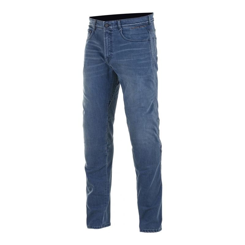 Jeans moto Alpinestars Radium Plus denim true Vintage bleu