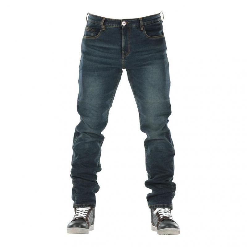 Jeans moto Overlap Monza dirt