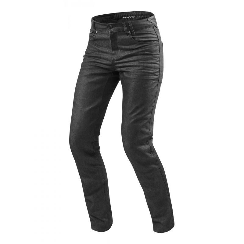 Jeans moto Rev'it Lombard 2 longueur 36 (long) gris foncé