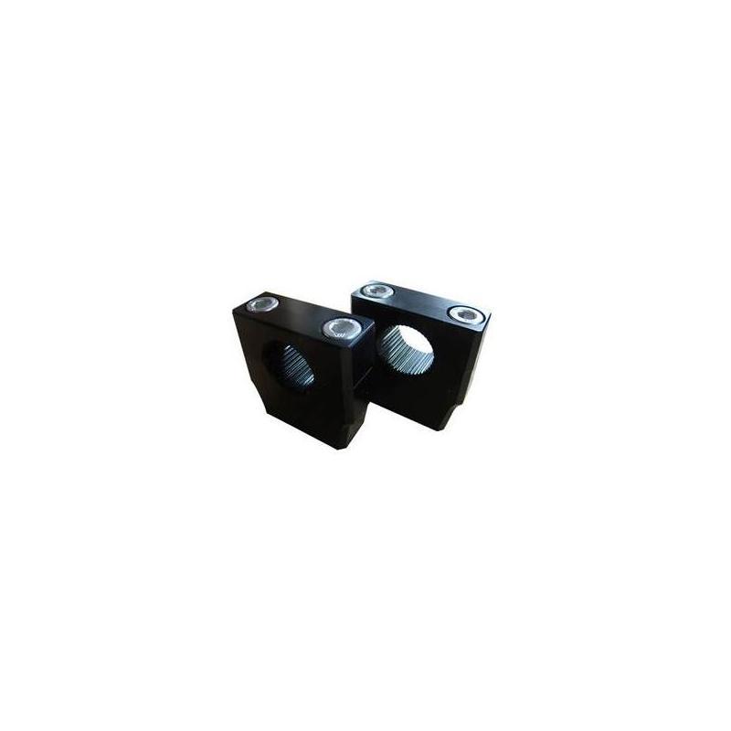 Jeu de pontets bas de guidon YCF 50cc noir (non ajustable)