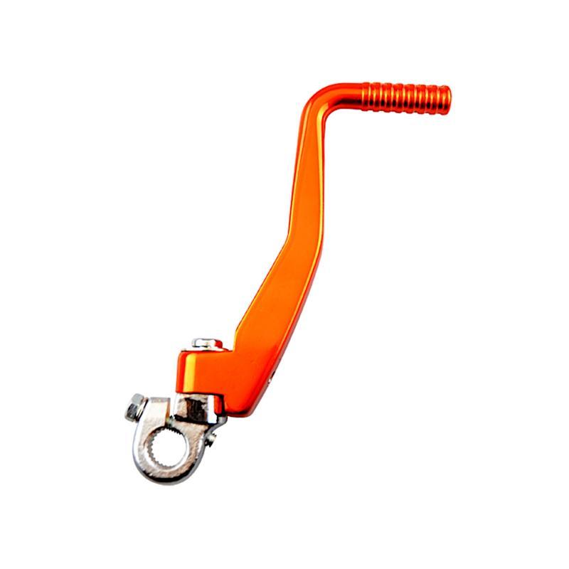 Kick Tun'R acier / alu Derbi Senda orange
