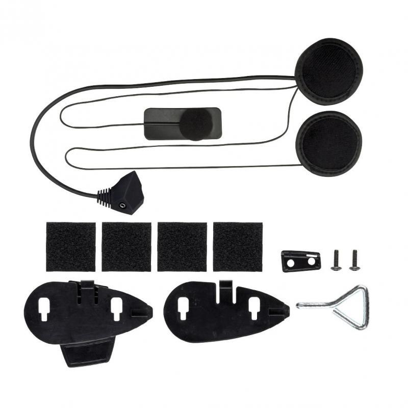Kit audio ultra fin casques intégraux pour interphone Cellularline