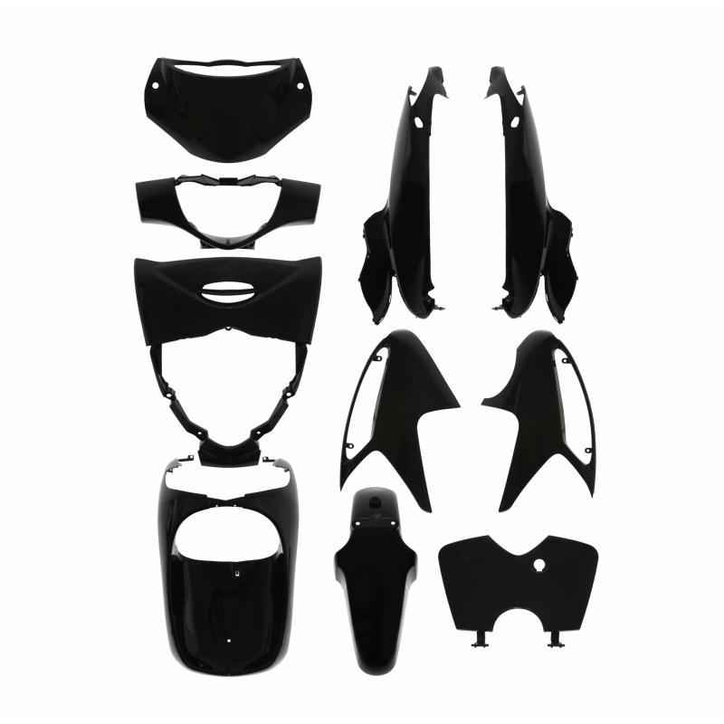 Kit carénage 1Tek Origine noir brillant Honda SH injection 125